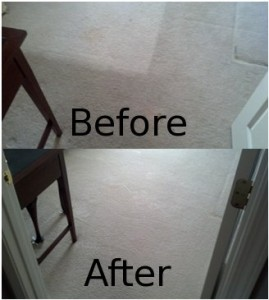 Cleaning Dirt out of Peachtree City Carpets
