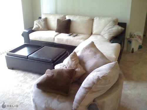 heavy furniture on carpet